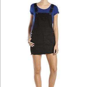Black Denim Skirt Overall XS